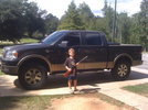 05 King Ranch after the leveling kit