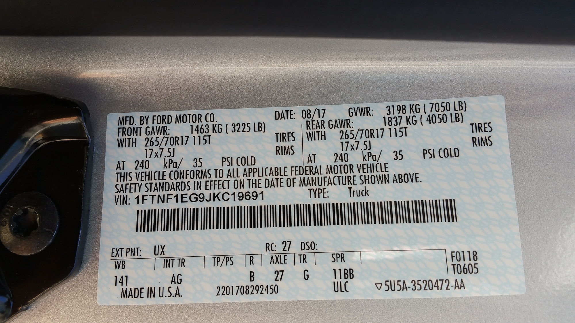 How Much Can An F150 Tow >> How much can I tow and have for payload? F-150 XL 4WD ...