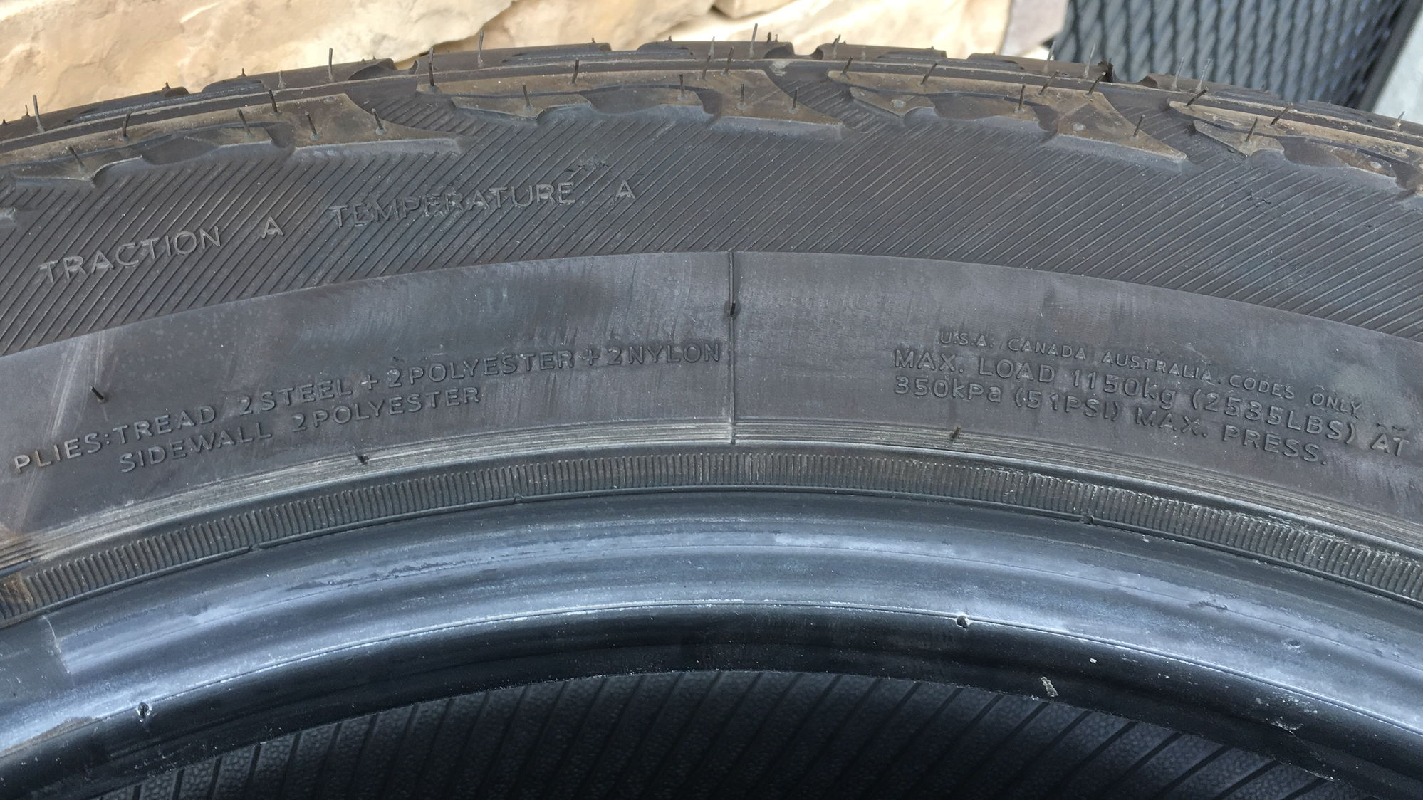 Hankook Dynapro Atm 275 55r20 >> Northeast Four Hankook DynaPro ATM P275/55R20 Tires For Sale! - Ford F150 Forum - Community of ...