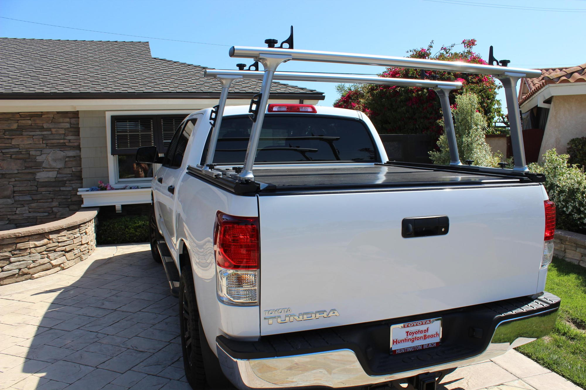Help Locking Tonneau Cover And Ladder Rack Ford F150