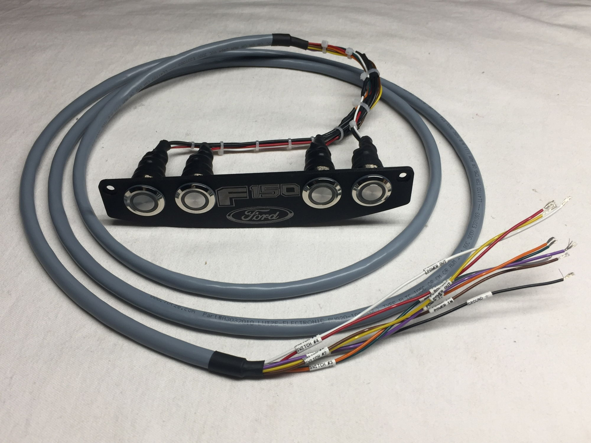 For Sale: KustomFX Custom Overhead switch Panels! - Page 10 - Ford ...