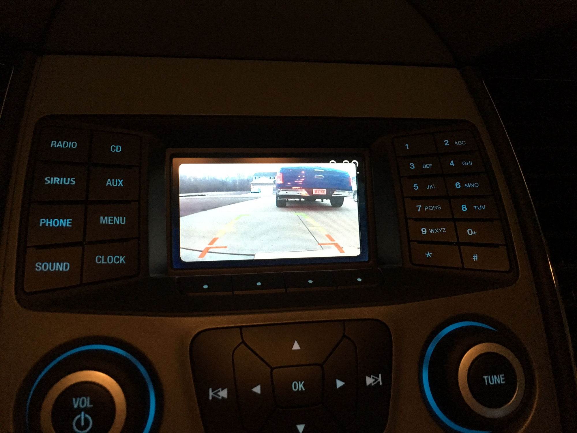 aftermarket backup camera question page 3 ford f150 forum community of ford truck fans. Black Bedroom Furniture Sets. Home Design Ideas