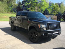 2012 F150 FX4 Appareance Package