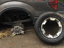 2014 fx4 factory rims? Smooth road? How's does this happen?