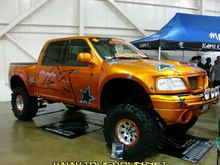 F150 at WC Nats Last show befor we tore the truck down and got crazy with it