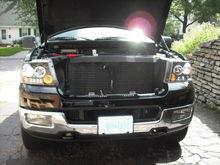 Truck Front Open Hood
