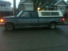 only picture I have right now of my truck, the day I bought it. I no longer have the canopy/topper/shell/whatever you want to call it on it anymore.