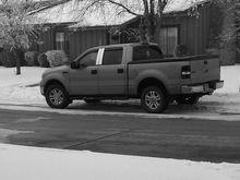 2012 Winter Frost Fog b&w