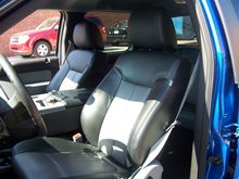 Katzkin leather w/heated front seats