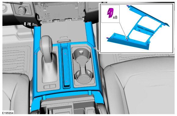 Center Console Trim Piece Removal  - Ford F150 Forum