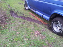 Old picture of whem I got stuck in the yard