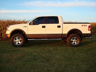 Biggest tires on stock rims - F150online Forums