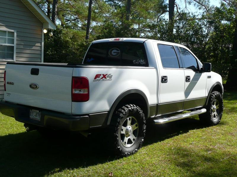 2008 f150 fx4 with leveling kit and max tire. Black Bedroom Furniture Sets. Home Design Ideas