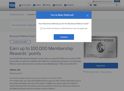 American Express Referral Offers (Read Wiki before posting)  - Page