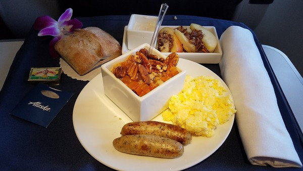 Pre Order First Class Meals Transcon Mid Con Hawaii Ak