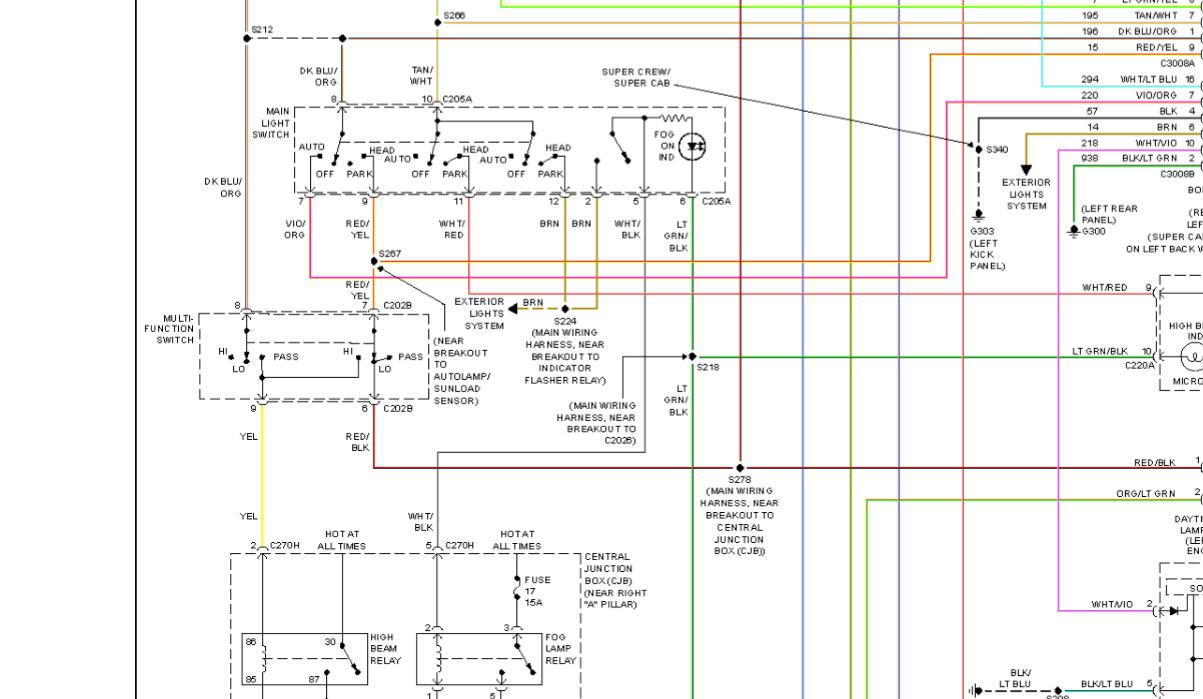 Headlight Switch Diagram 04 08 F 150 Ford Truck Enthusiasts Forums