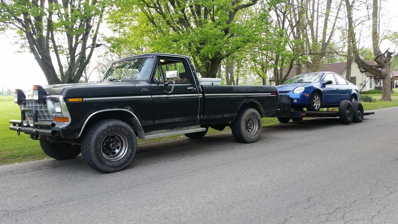 Cummins 12v Diesel swap into my 1978 F-250 Ranger 4x4 - Ford Truck