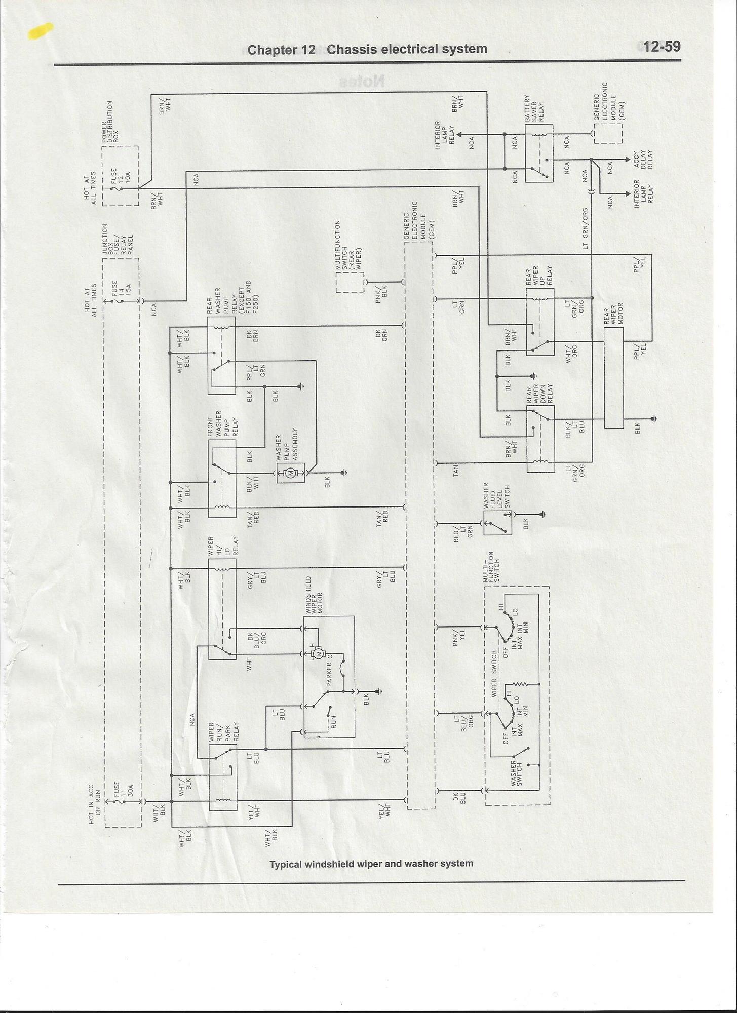 complete excursion wiring diagrams     so far - page 2