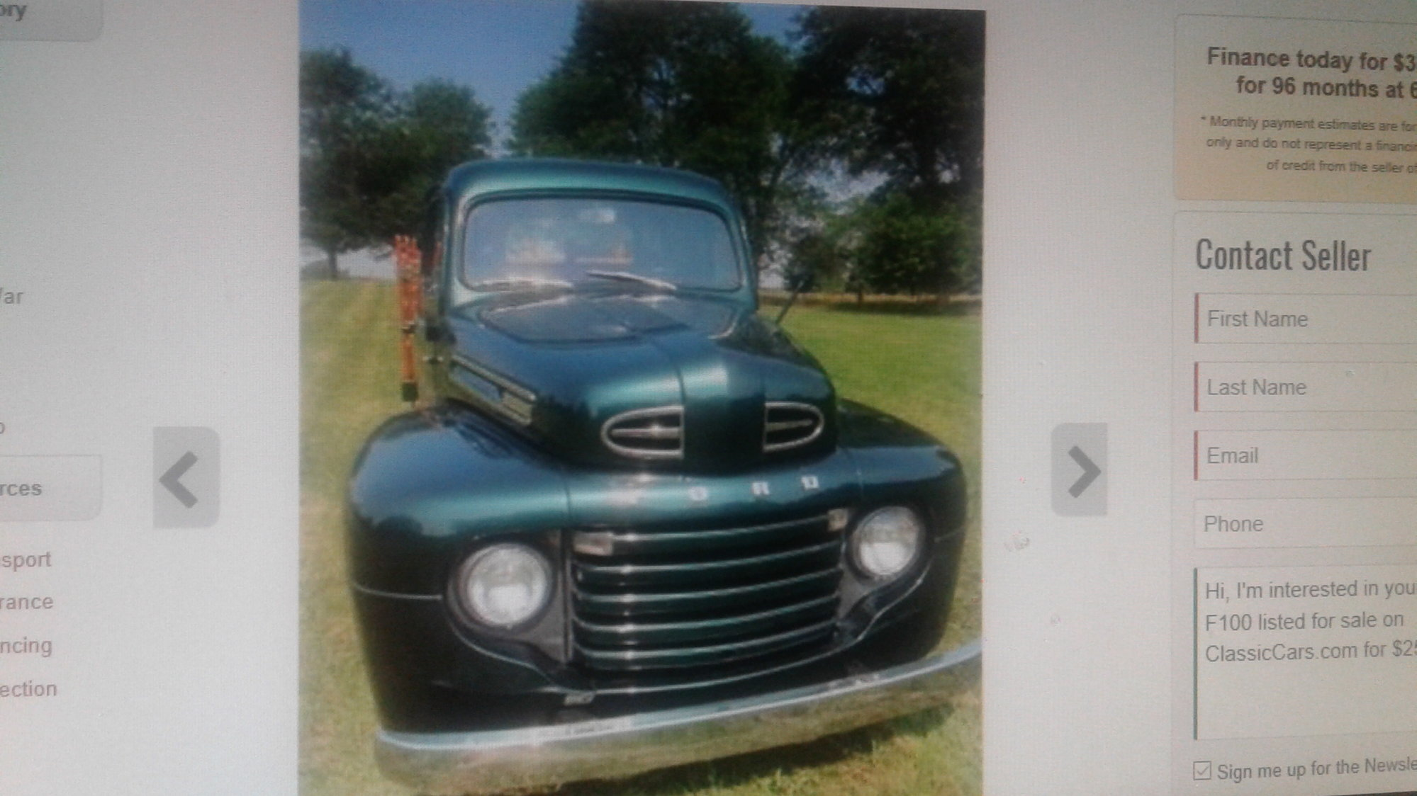 wireing diagram ford 1950 ford f100 - Ford Truck ...