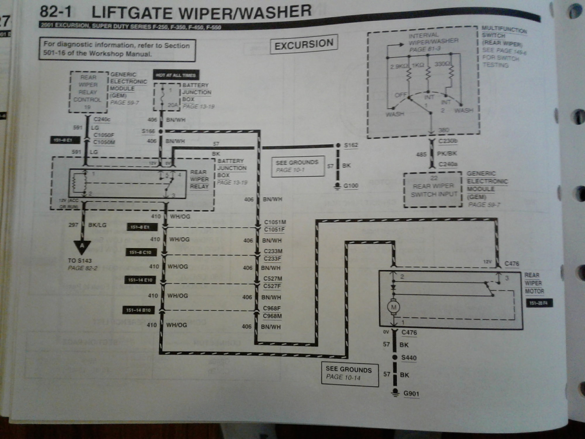 Windshield washer pump no power - Ford Truck Enthusiasts Forums on