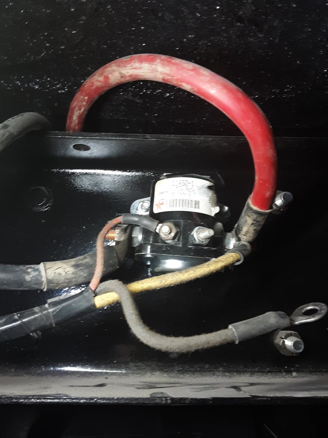53 F100 Starter Solenoid Wiring