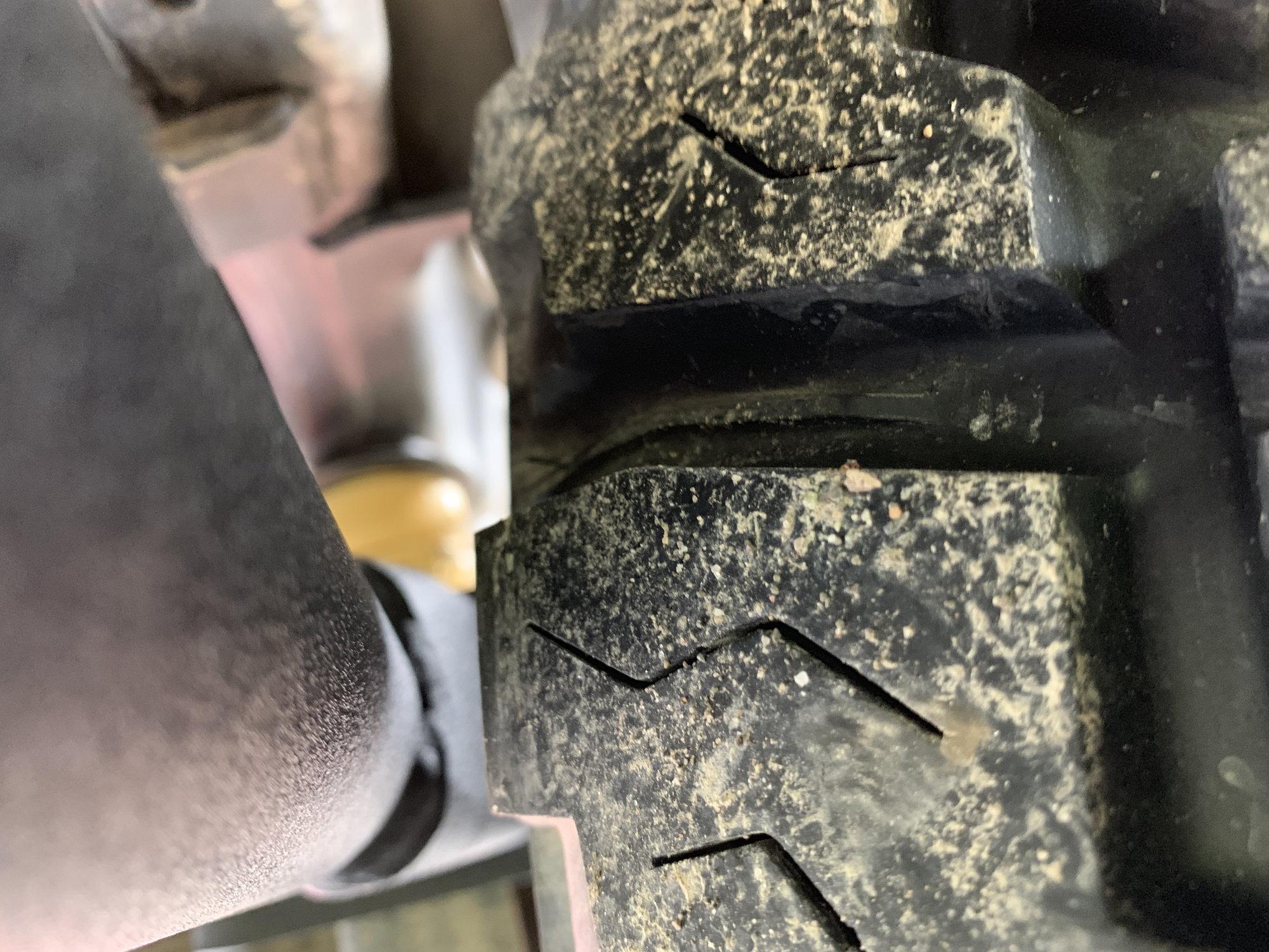 37x12 5, OEM wheels, no lift, no spacers, no rub - Ford