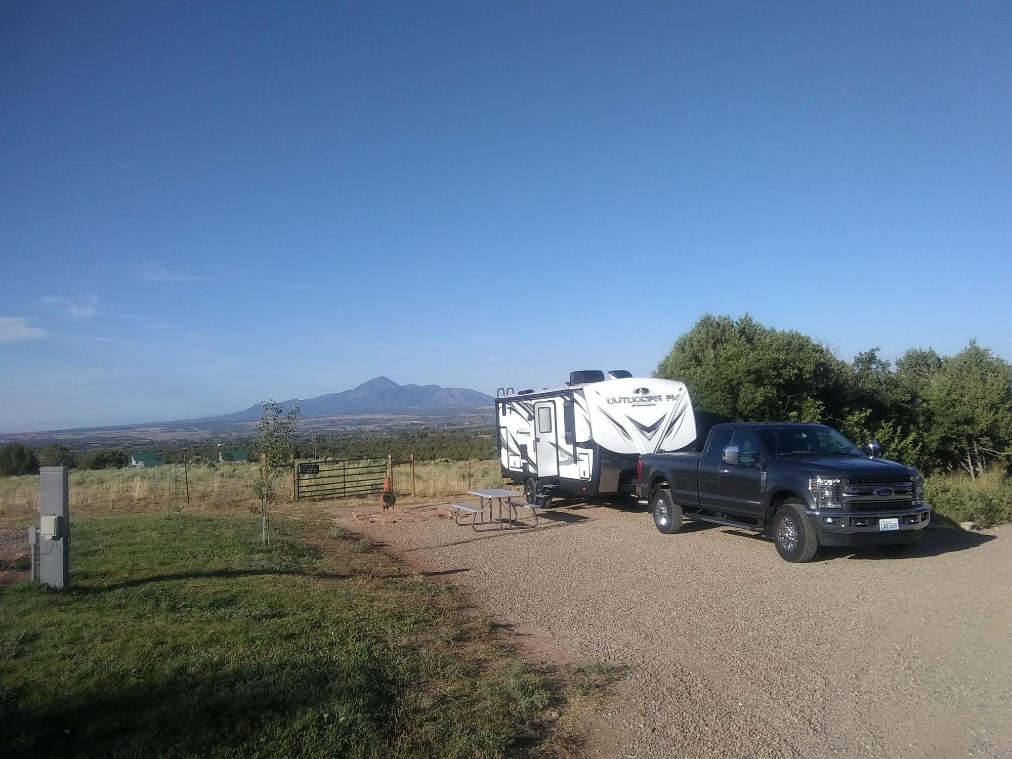 Show Your Truck W/ Bumper Pull Camper Here....