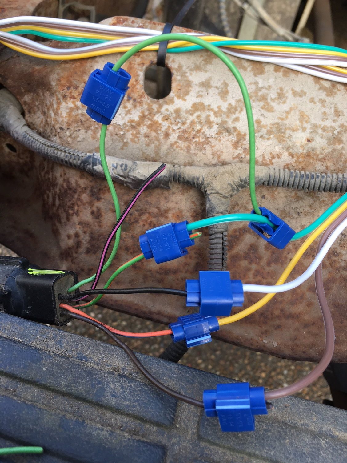 1994 Ranger  Brake Light  Turn Signal Wiring
