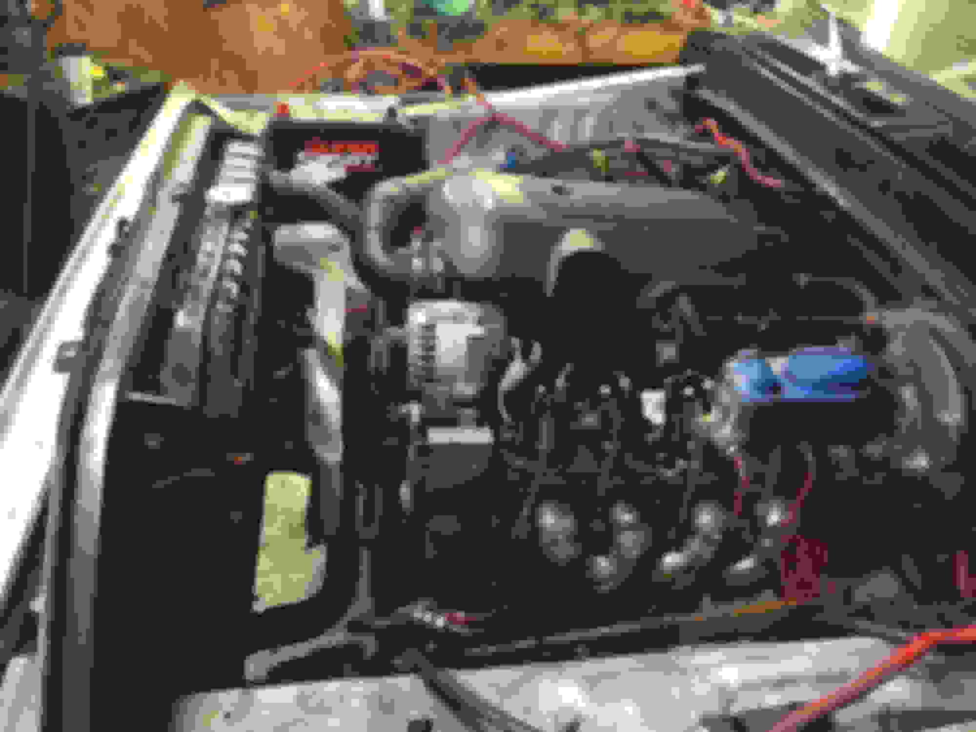 Ford Vortec Engine