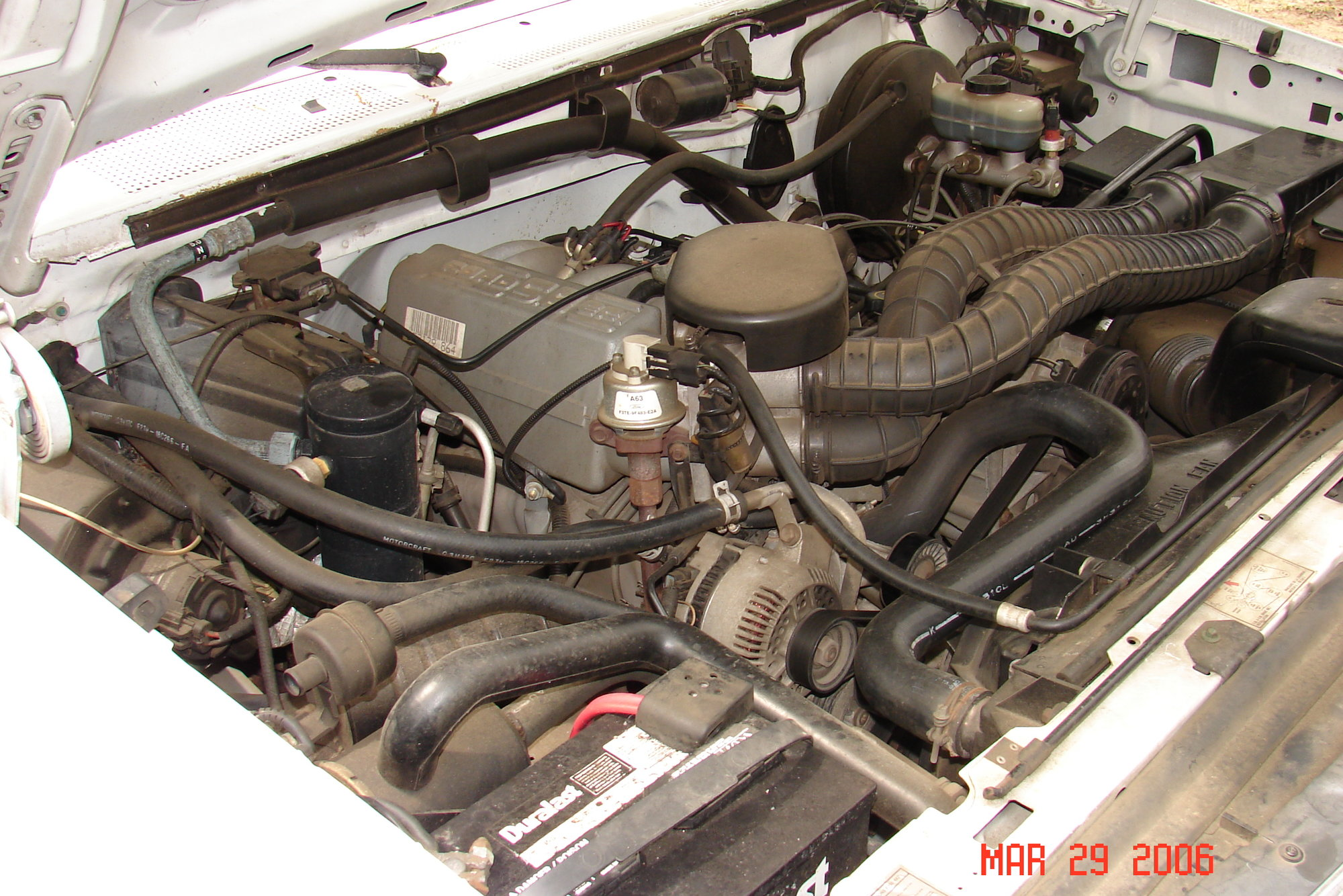 Need pictures of engine bay  emissions    diagram    1993 F250 Gas     Ford    Truck Enthusiasts Forums