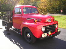 The 1948 Ford F-3.