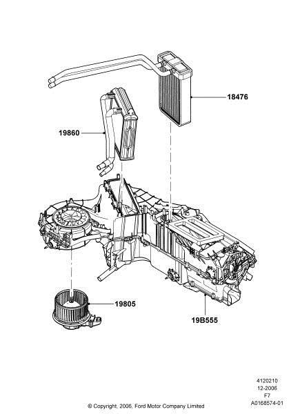 Service Manual 2008 Ford E350 Heater Coil Replacement
