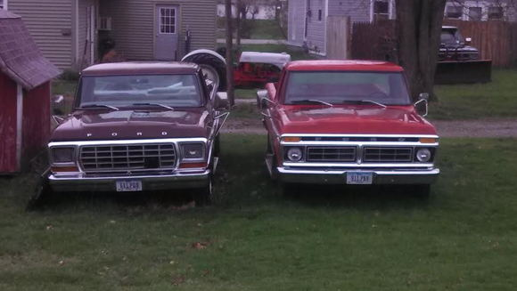 Bought brown truck yrs ago for cab and motor, red one is the cab I'll use now