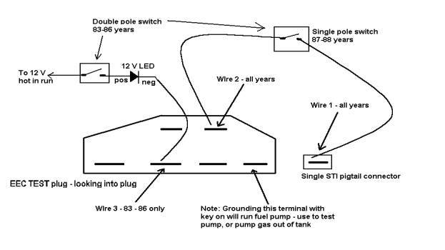 1993 geo storm wiring schematic service manual [how test fuel pump relay on a 1993 geo ...