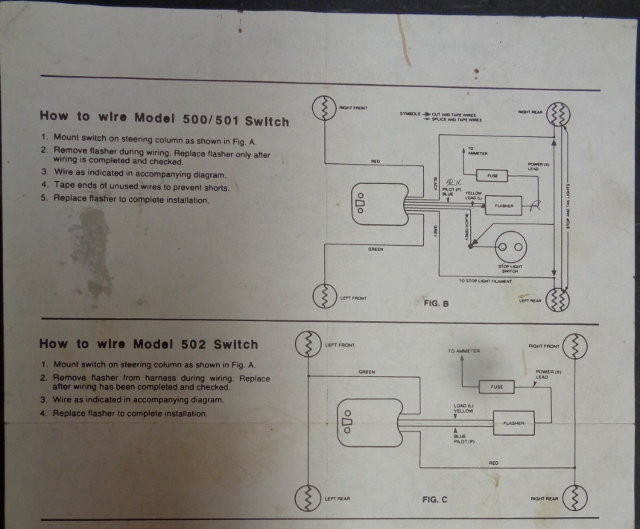 wiring diagram for signal stat 700 signal stat wire colour code ford truck enthusiasts forums  signal stat wire colour code ford