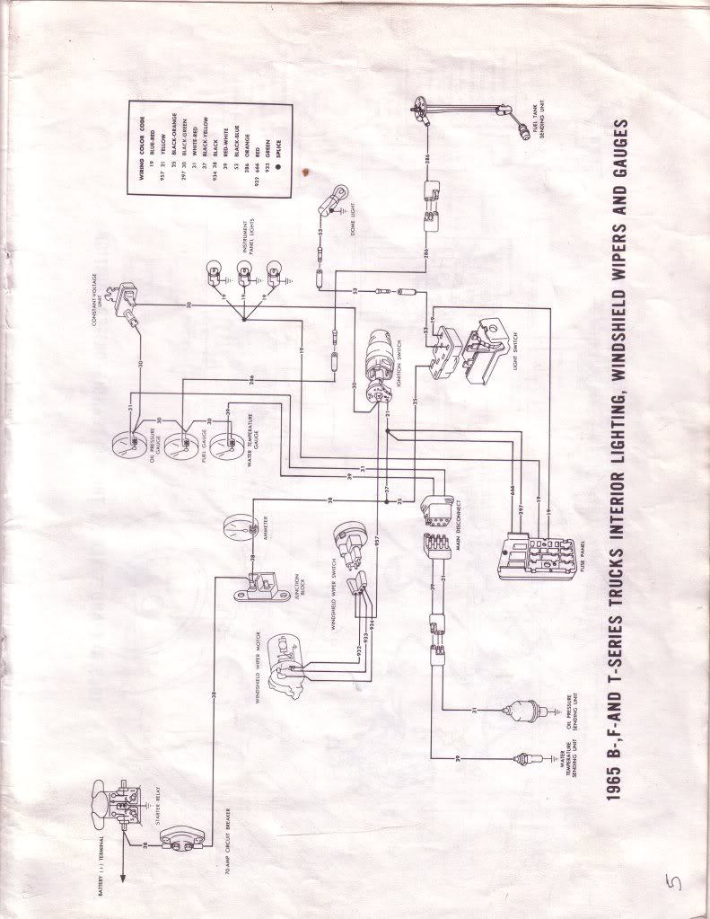 1965 f100 instrument panel wiring diagram - ford truck enthusiasts forums  ford truck enthusiasts