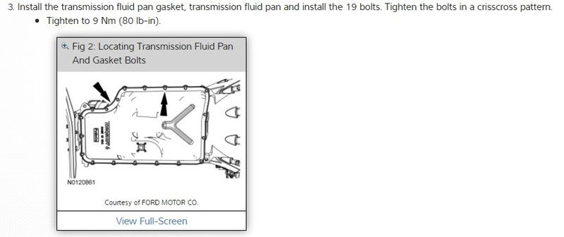 2004 Ford F150 Bolt Pattern >> Transmission pan bolt torque - Ford Truck Enthusiasts Forums