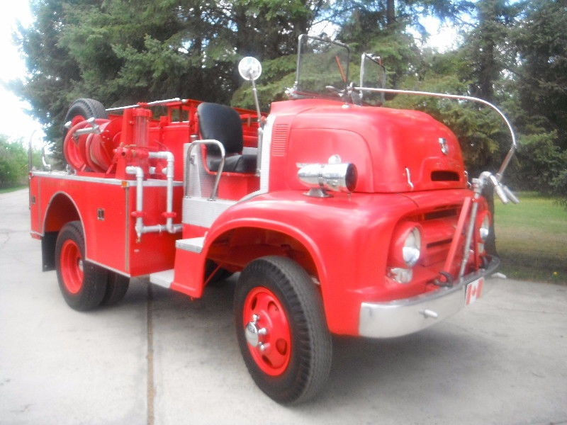 1956 Ford Fire Truck : Coe fire truck for sale ford enthusiasts forums