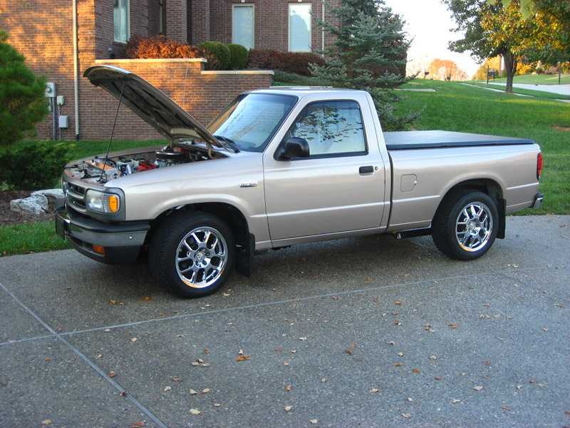 Ford Racing 302 into my Mazda B2300 - Ford Truck Enthusiasts Forums