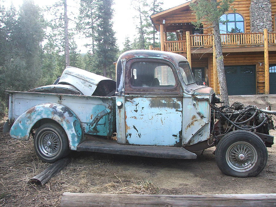 1940 ford pickup on 1997 explorer chassis ford truck enthusiasts forums. Black Bedroom Furniture Sets. Home Design Ideas
