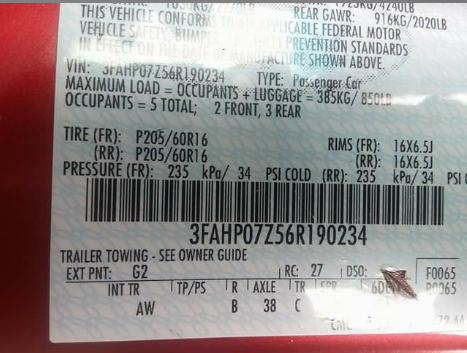 06 Fusion transmission fluid type Please Help! - Ford Forum