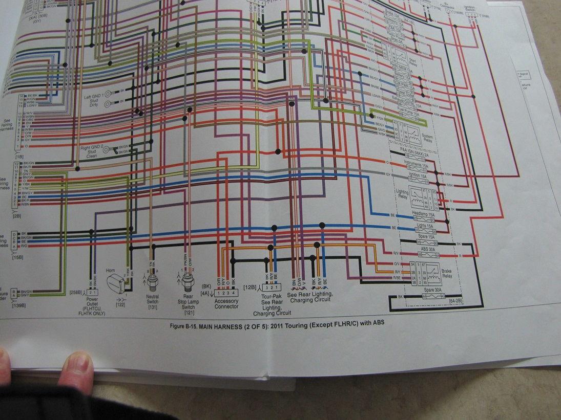 2001 Flhr Wiring Diagram | Wiring Liry Harley Roadking Wiring Harness Diagram on