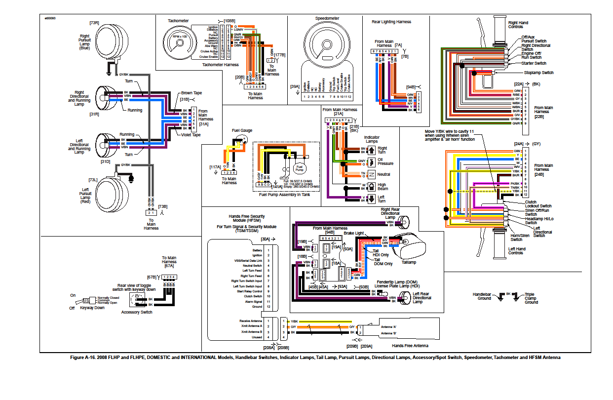 Wiring Diagram Rear Spotlight