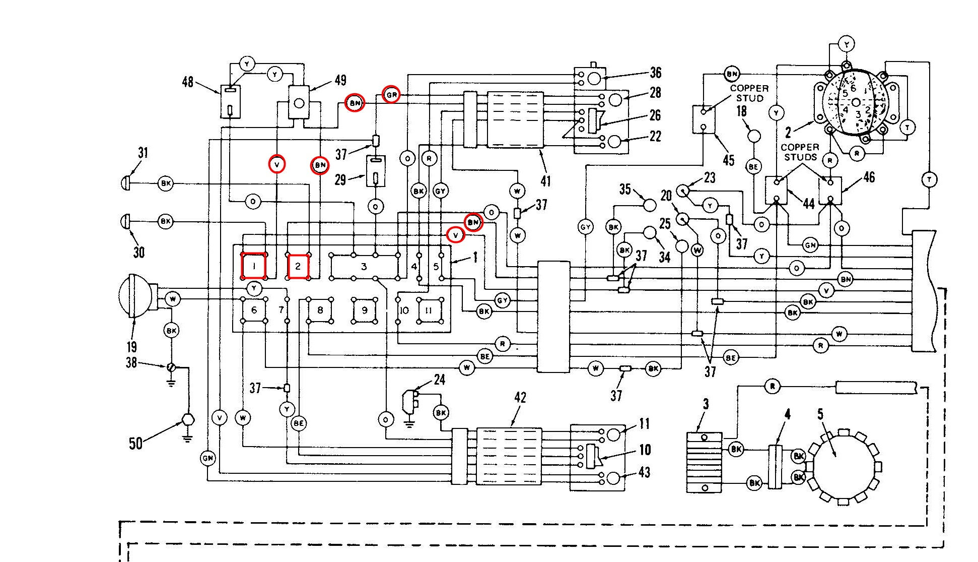 79 Flh-80 Turn Signal Wiring Questions - Page 2