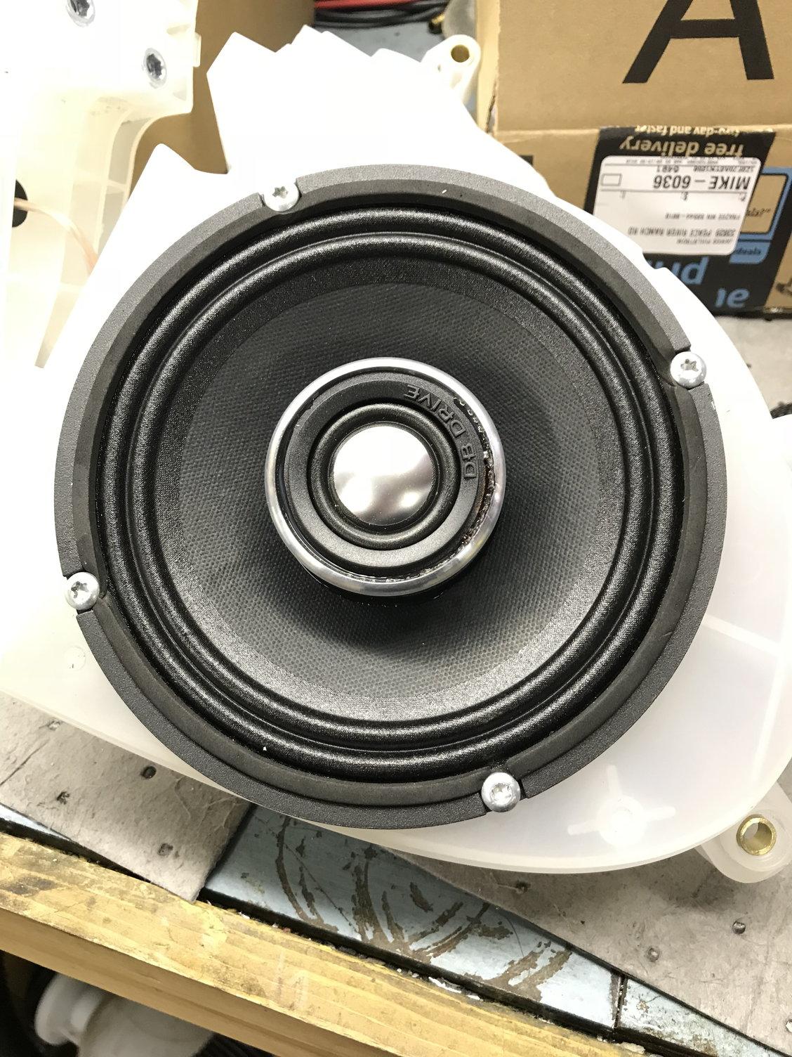 WDX6MOTO speakers & RFosgate TM400XAD - Page 2 - Harley Davidson Forums