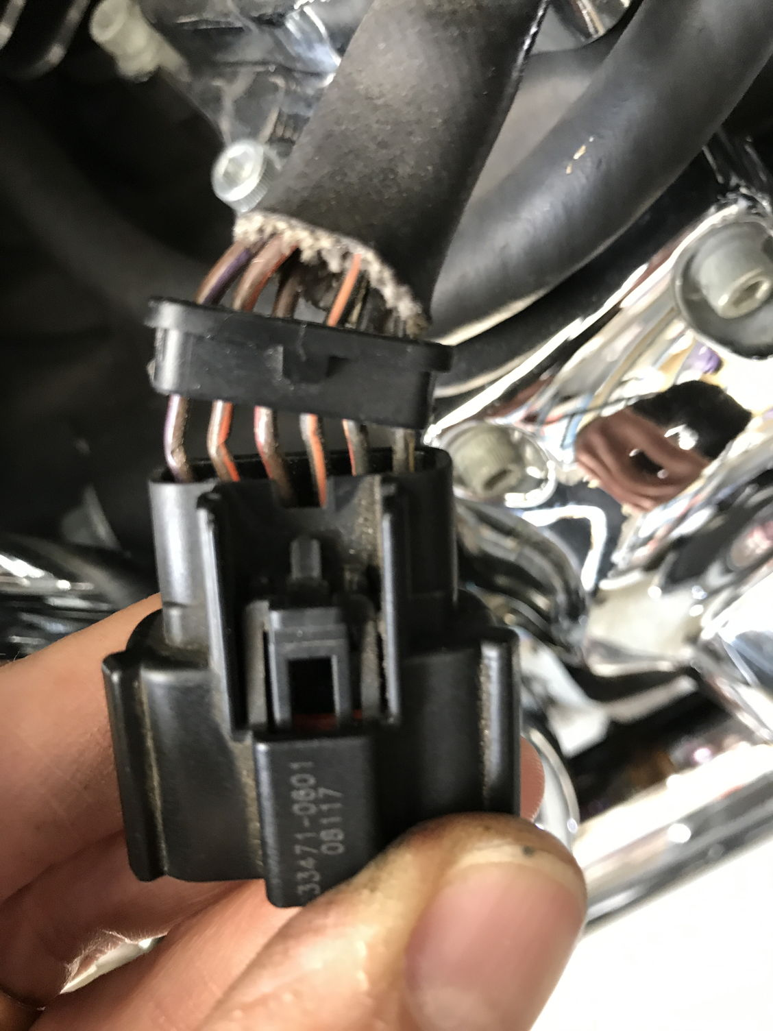Throttle Body 6 Pin Connector