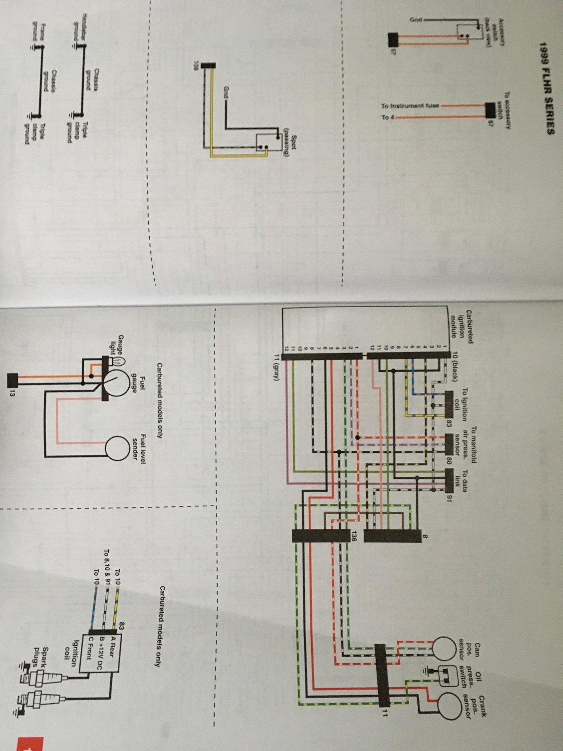 1999 Road King wiring diagram - Harley Davidson Forums | 99 Road King Wiring Diagram |  | Harley Davidson Forums