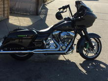 Danny Gray But Crack on 2016 Road Glide