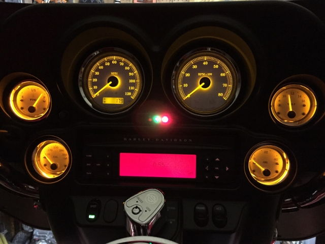 Changing The Gauge Lights To Led S Page 2 Harley