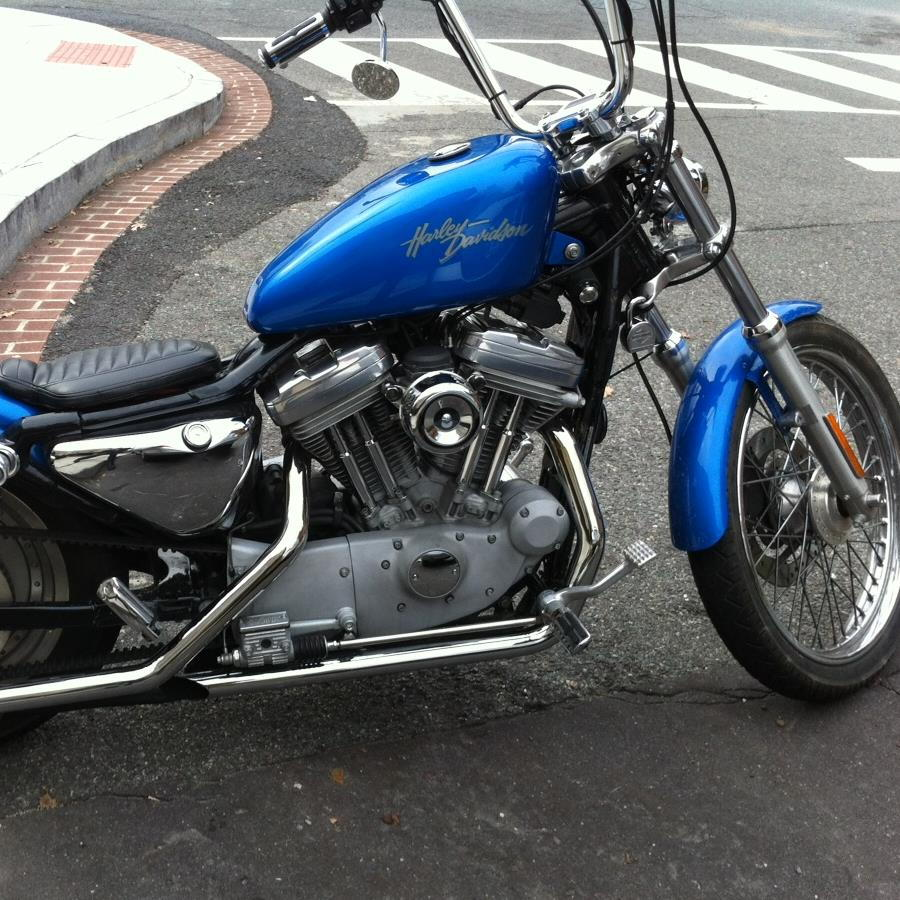 TC Bros Chrome Louvered Air Cleaner Kit for Harley CV Carbs & Delphi
